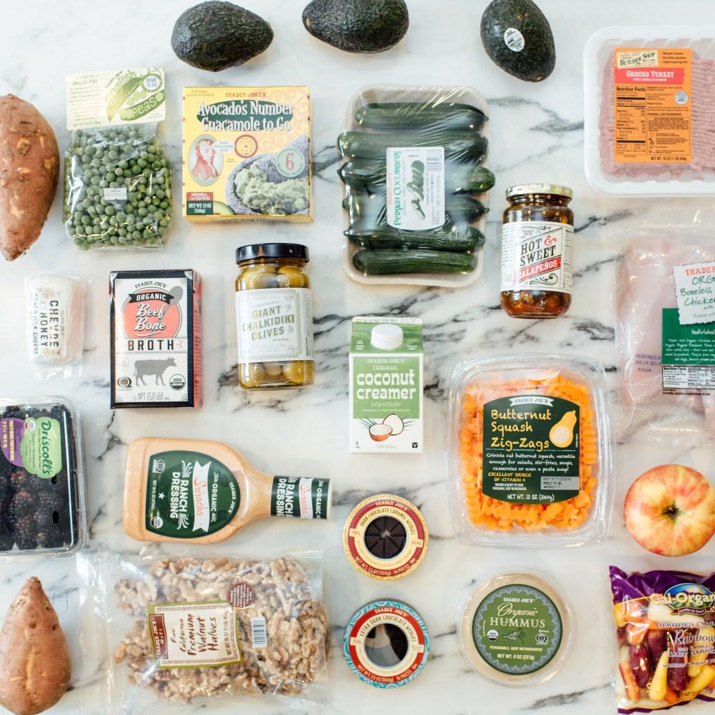 healthy trader joes snacks