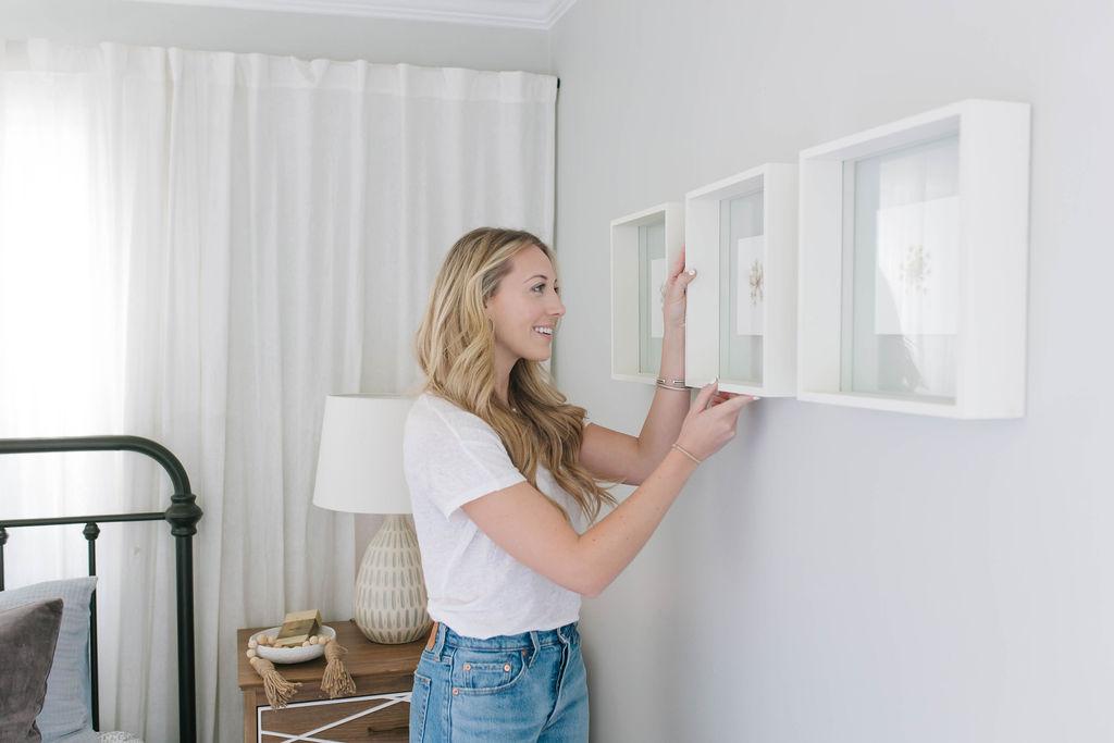 guest bedroom wall art