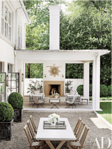 arch digest covered patio ideas