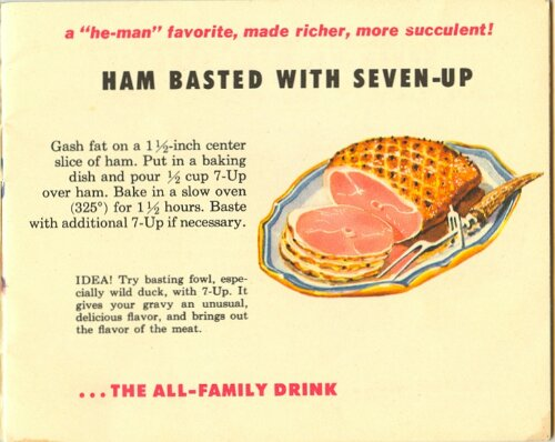 7-Up Recipe Book from 1953 (3/6)