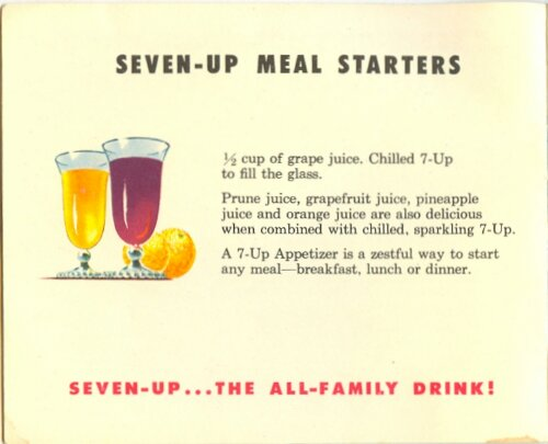 7-Up Recipe Book from 1953 (4/6)