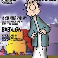 Ezekiel in Babylon Comic