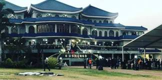 Blue Roof Mugabe Residence