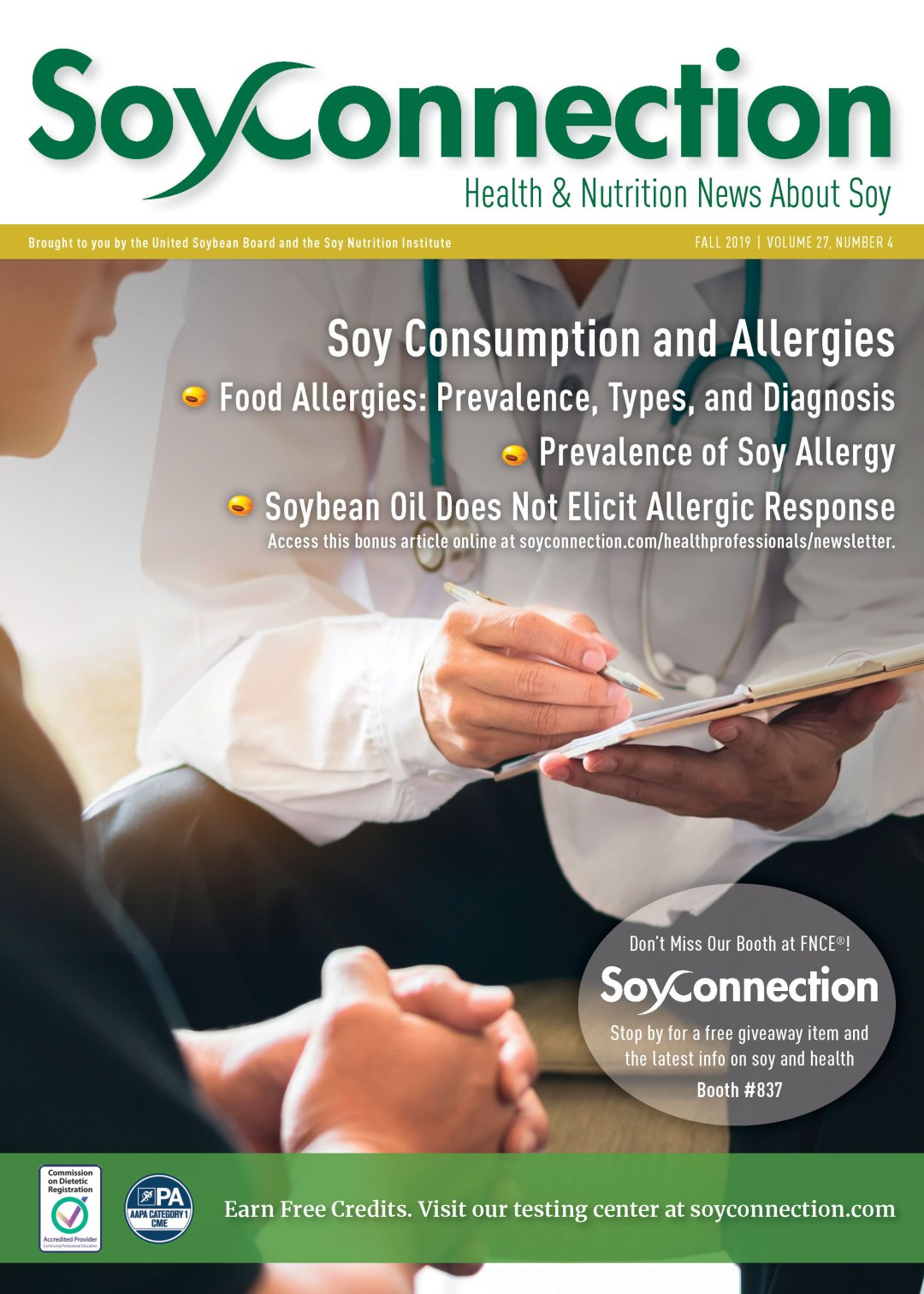 Soy Connection Allergies