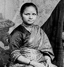 The first lady Maratha physician