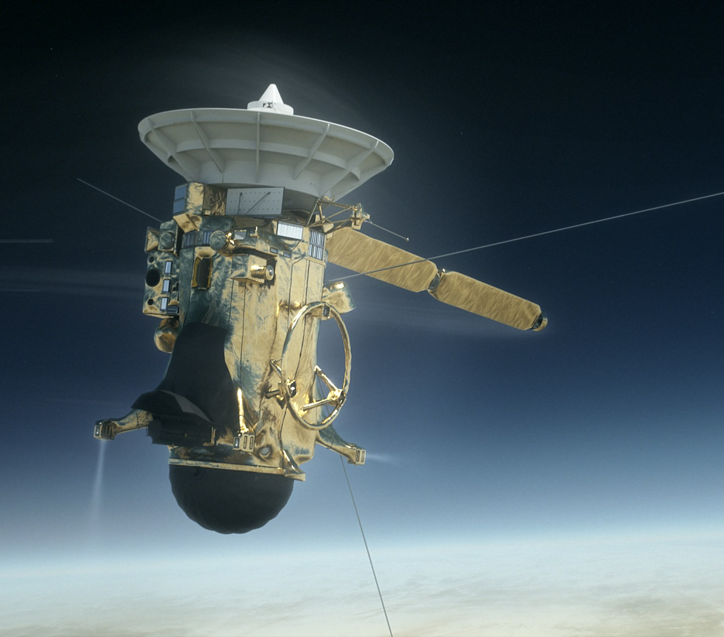 Cassini Enters the Final Plunge