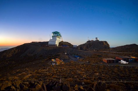 The Vera C. Rubin Observatory on Cerro Pachón, in Chile, as seen on Dec. 18, 2019. Credit: LSST/Vera Rubin Observatory.