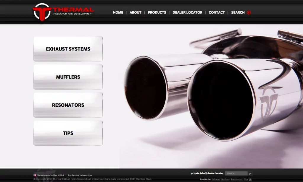 Thermal R&D Photography and Website Case Study