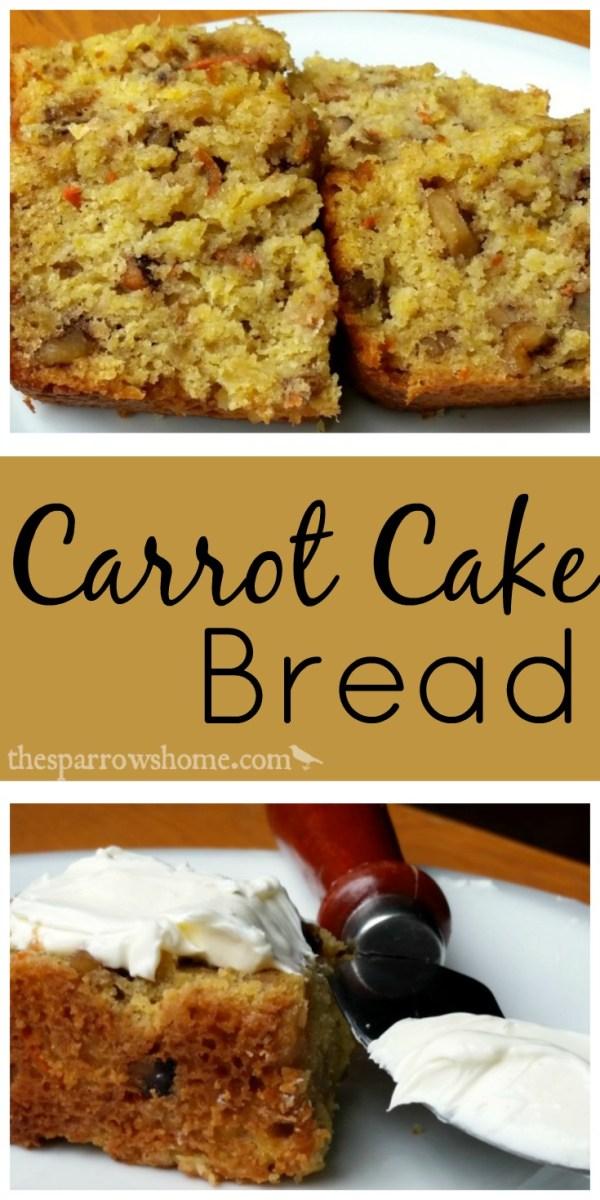 Carrot Cake Bread