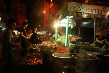 Can't go wrong with street food