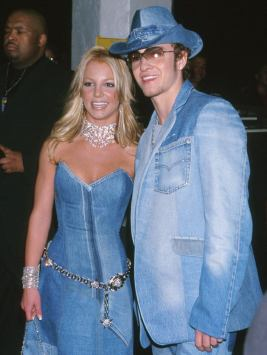 2001: Britney and Justin in denim.