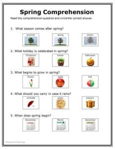 Spring Nonfiction packet 4