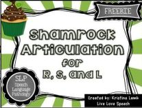 shamrock articulation for r s l