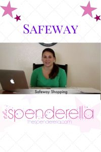 How to Coupon Shop at Safeway