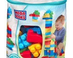 80 Piece Mega Bloks First Builders Big Building Bag $6.00 Shipped (Regular $24.99)