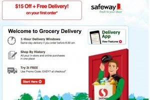Safeway Delivery = Cheap Groceries with Promo Codes + FREE Shipping