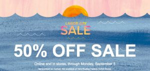 Vera Bradley – Labor Day Sale – FREE Shipping No Minimum