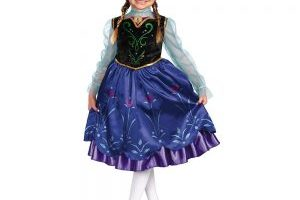 Disney's Frozen Anna Deluxe Girl's Costume $7.25 (Regular $39.99)