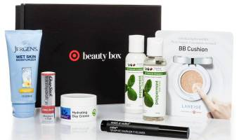 Target October Beauty Box $7 ($27 Value)