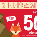 Gymboree – Extra 50% Off Clearance