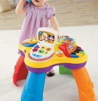 Fisher-Price Laugh & Learn Puppy and Friends Learning Table $24.99 (Regular $44.99)