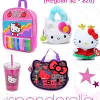 Hello Kitty Items from $1 (Regular $2 – $26)