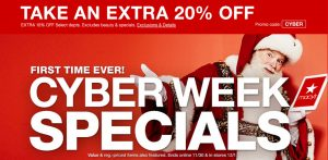 Macy's Cyber Week Deals + FREE Shipping with $25+ Purchase
