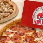 Purchase $25 Papa John's eGift Card Receive 2 FREE Large Pizzas ($55 Value)