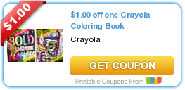 Crayola Coloring Book, Snuggle, All Powercore Pacs & More Coupons