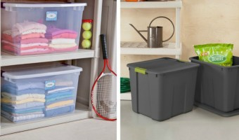 Target – $5 off $25 Storage and Organization Purchase