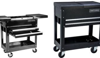 Craftsman 31-In 2-Drawers Mechanic Tool Cart $79.99 (Regular $149.99)