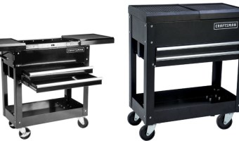 Craftsman 31-In 2-Drawers Mechanic Tool Cart $79.99 (Regular $149.99)
