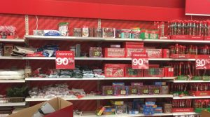 Target – 90% Off Christmas Clearance