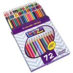 LolliZ® 72 Colored Pencils Set $7.99 & 96 Gel Pens $14.99
