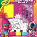 Crayola Trolls Deluxe Washable Paint Kit $9.84 (Regular $19.49)