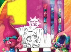 Crayola Trolls Deluxe Washable Paint Kit $9.84 (Regular $19.49)