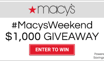 Macy's $50 Gift Card Giveaway