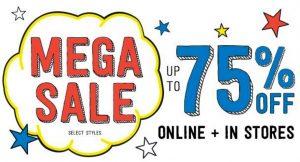 Crazy 8 Mega Sale – Tees, Tanks & Shorts from $2.78 (Regular $9.88-$14.88)