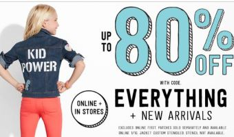 Crazy 8 – Extra 15% Off Promo Code = Tanks $2.02, Tees $3 & More!