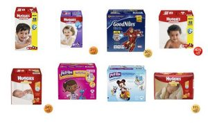 Huggies Diapers & Pull Ups as low as $.08 each on Amazon – Stock Up Price!!