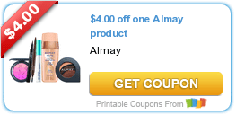 High Value $4/1 Almay + More Coupons like Tide, Bounce & More