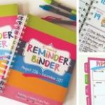 Set of 2 – 2017 Reminder Binder Planners $9.98 Shipped (Regular $49.90)