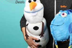 As Seen on TV Disney Pillow Pets – Olaf or Dory $1 each (Today ONLY)