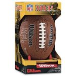 Wilson NFL MVP Junior Football $10.36 (Regular $24.99)