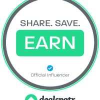 Be a Deal Blogger - Earn Points to Redeem for Gifts Cards with Dealtpotr