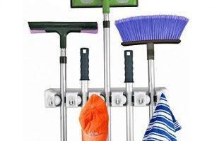 Mop and Broom Holder Organizer $7.99 (Regular $20.00)