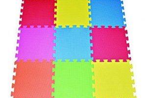 Multi-Color Foam Floor Mat $11.36 (Regular $39.98)
