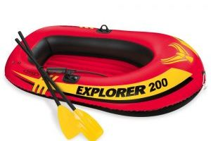 Intex Explorer 200 2-Person Inflatable Boat Set $13.01 (Regular $39.99)