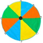 12 Feet Multicolored Parachute Toy With 8 handles $17.99 (Regular $39.99)