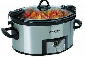 Crock-Pot 6-Quart Programmable Cook & Carry Slow Cooker $31.99 (Regular $55.99)